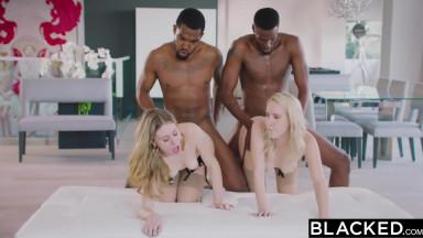 interracial orgy fuck blondes